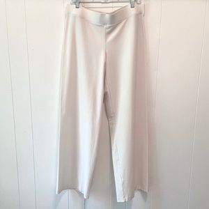 Eileen Fisher Pull-On Pants-Winter White